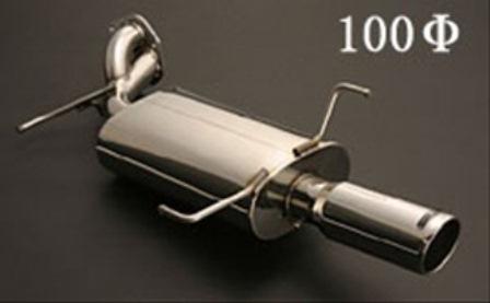 JUNCTIONPRODUCE ジャンクションプロデュース プレサージュ VU30 VNU30 マフラー100シングルテール タイプ3 エグゼクティブ仕様 左右出し オールステンレス