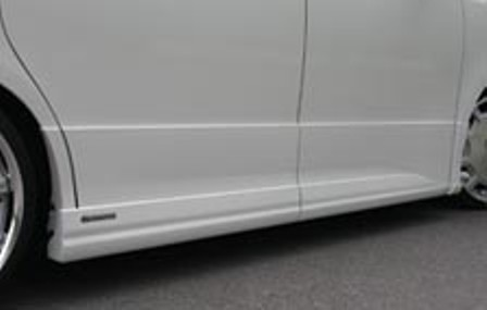 ケンスタイル ヴォクシー ZRR70W 前期 サイドスカート 未塗装 KENSTYLE