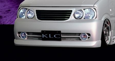 KLC ムーヴ L900 902 910 912系 後期 フロントバンパースポイラー KOMPRESSOR コンプレッサー ケイエルシー 個人宅発送不可