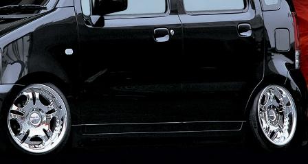 KLC ワゴンR MC21S 22S 後期 サイドステップ 03MODEL 03モデル ケイエルシー 個人宅発送不可