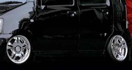 KLC ワゴンR MC11S 12S 前期 サイドステップ 03MODEL 03モデル ケイエルシー 個人宅発送不可