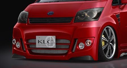 KLC ムーヴカスタム L175 185 前期 フロントバンパースポイラー PerformanceEdition+ パフォーマンスエディションプラス ケイエルシー 個人宅発送不可