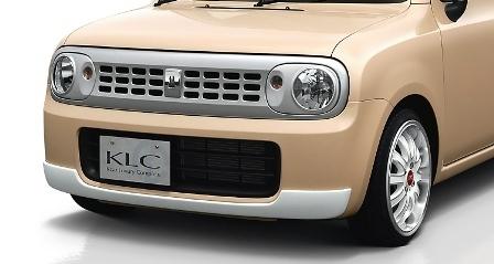 KLC アルトラパン HE22S G/X/T/TLパッケージ フロントバンパープロテクター スタンダードモデル Confiture コンフィチュール ケイエルシー 個人宅発送不可
