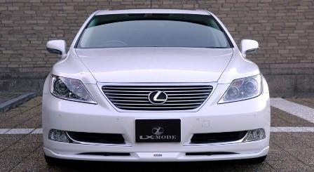 LXモード レクサス LS600hL 600h 460  カラードフロントスポイラー 塗装済 LX-MODE 配送先条件有り