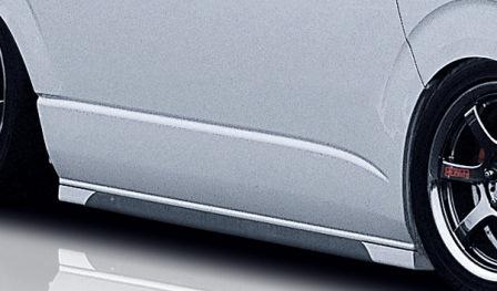 mac マック ハイエース 200系 1型 2型 サイドステップ FRP製/シルバーカーボン スターリングブリック STERLING BLICK
