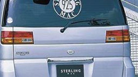mac マック エルグランド E50 リアガーニッシュ FRP スターリングマック STERLING MAC