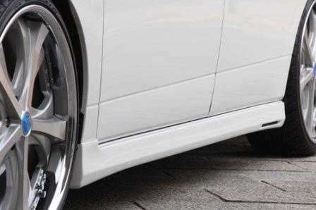 エムズスピード エルグランド E52 前期 サイドステップ 塗装済 3082-2241 グレースライン ゼウス