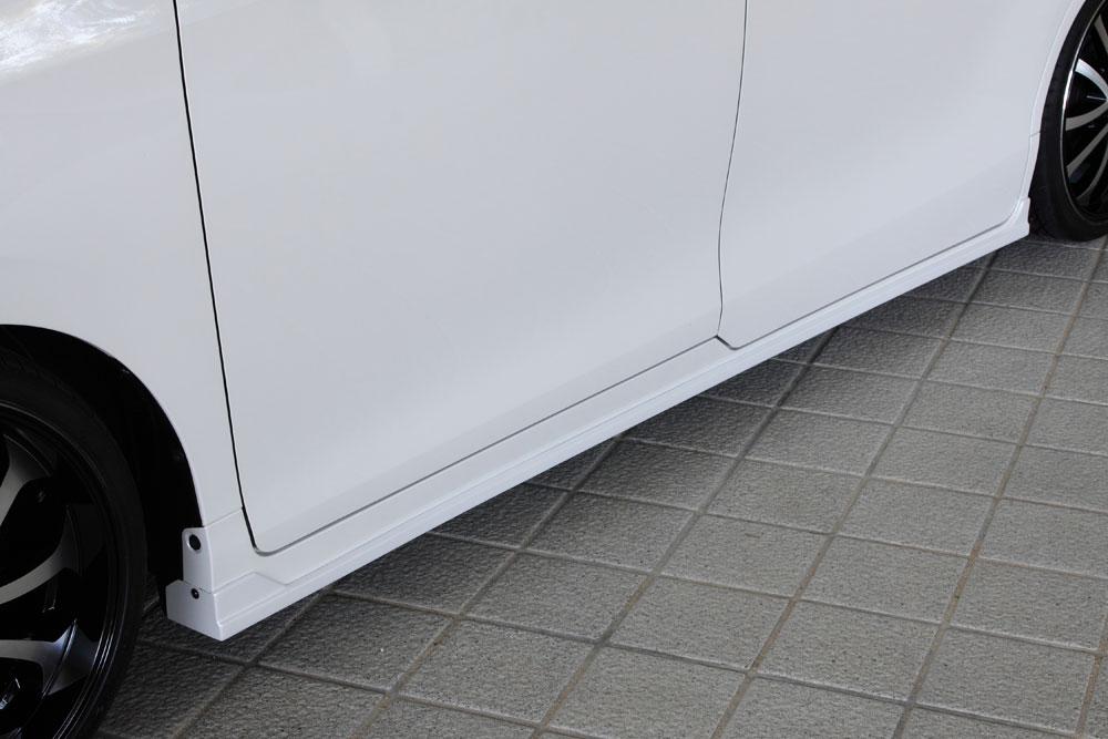 エムズスピード ノアハイブリッド ZWR80G サイドステップ 塗装済 3053-2212 グレースライン ゼウス