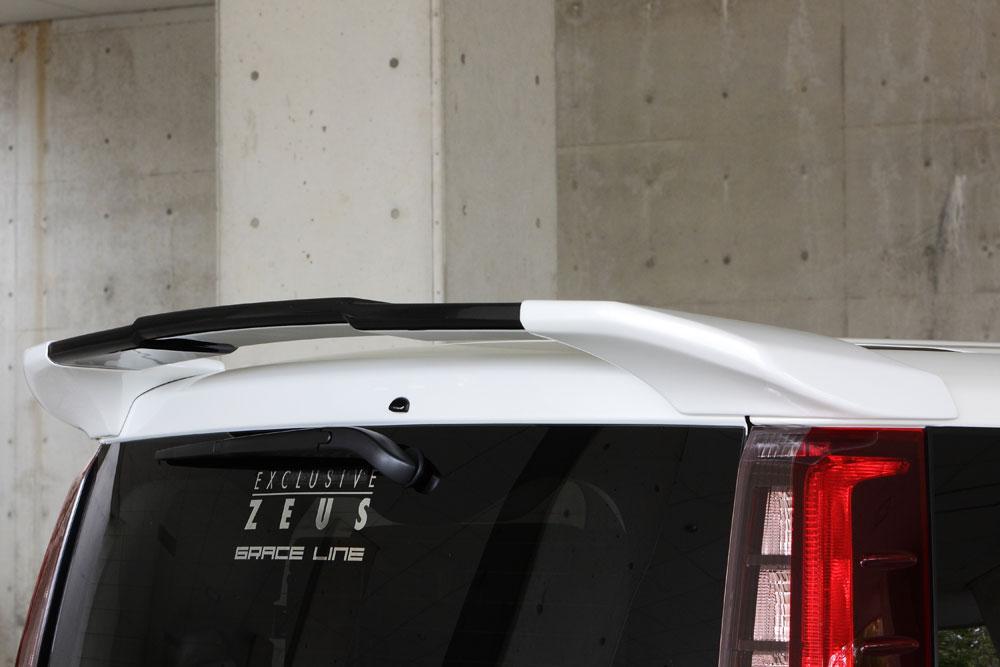 エムズスピード ノアハイブリッド ZWR80G リアウイング 未塗装 グレースライン ゼウス