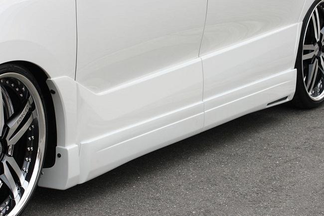 エムズスピード エスティマ ACR・GSR50 後期 サイドステップ 未塗装 3062-2131 グレースライン ゼウス