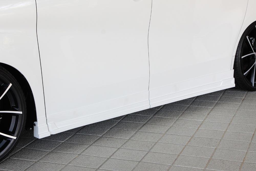 エムズスピード ヴェルファイア GGH AGH AYH 30系 前期 サイドステップ 未塗装 3042-2211 グレースライン ゼウス