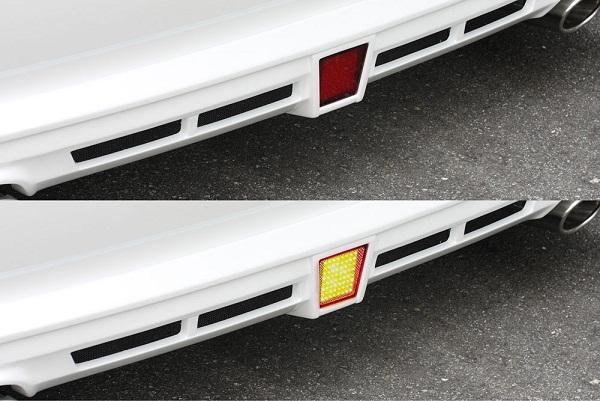 エムズスピード エスティマ ACR・GSR50 後期 LEDバックフォグランプ  グレースライン ゼウス