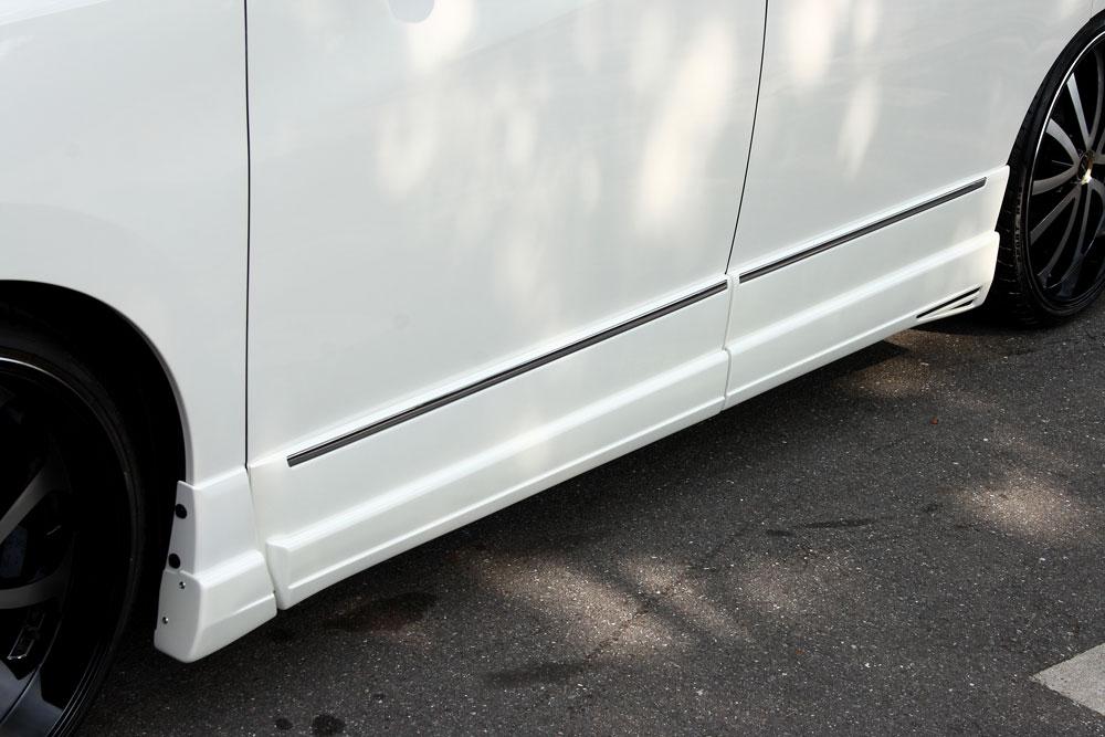 エムズスピード エルグランド E52 後期 サイドステップ 未塗装 3082-2331 グレースライン ゼウス