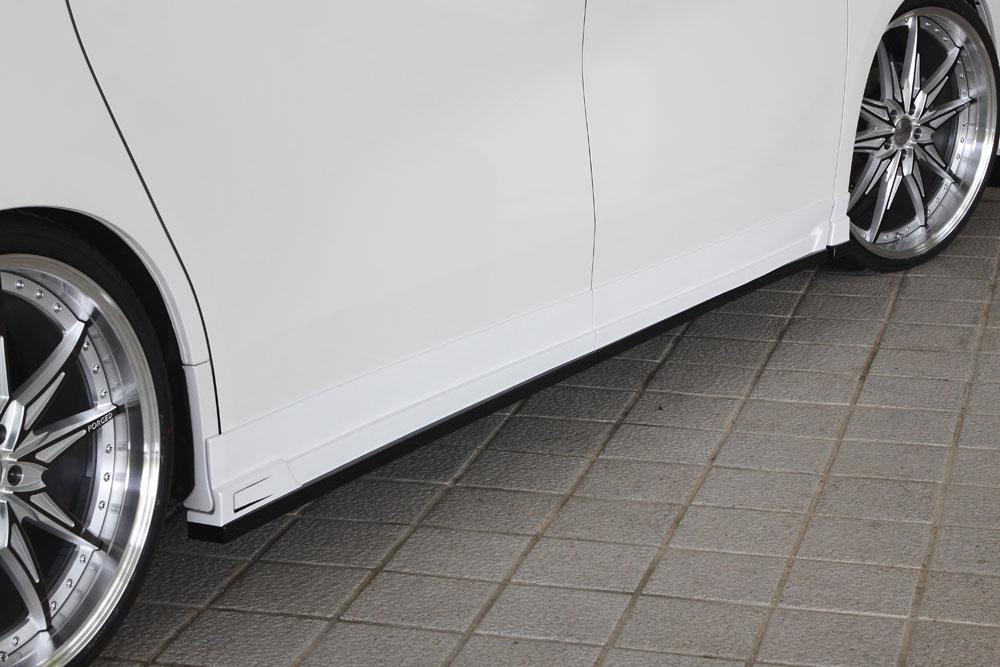 エムズスピード ヴェルファイア GGH・AGH・AYH30系 前期 サイドステップ 未塗装 3042-2111 グレースライン ゼウス