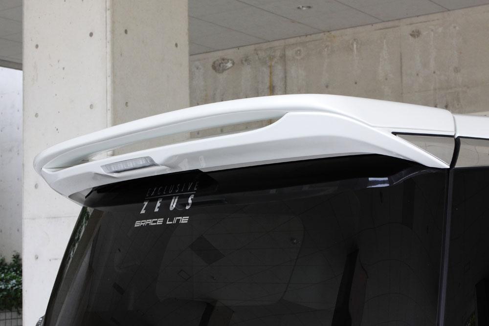 エムズスピード ヴェルファイア GGH・AGH・AYH30系 前期 リアウィング 単色塗装済み グレースライン ゼウス