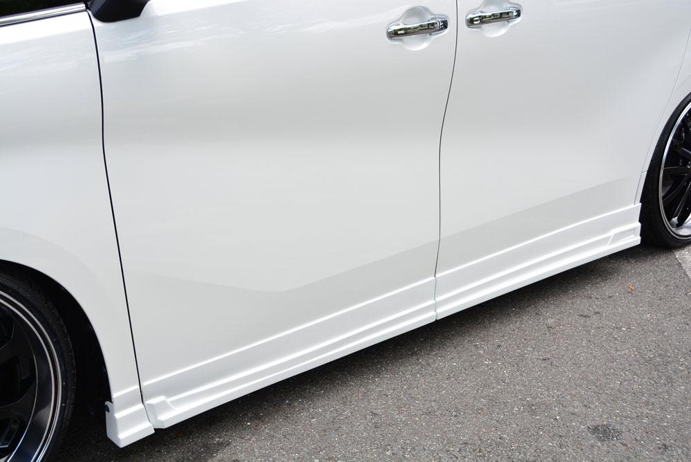 エムズスピード アルファード GGH・AGH・AYH30系 前期 サイドステップ 単色塗装済み 3042-2211 グレースライン ゼウス