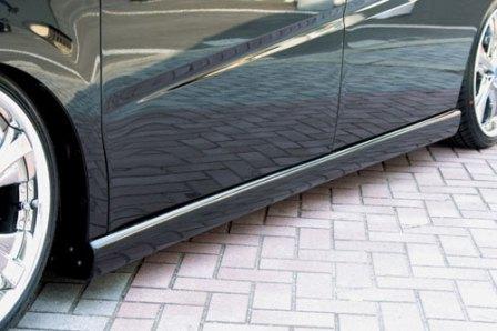 エムズスピード ステップワゴン RG1 2 後期 サイドステップ 未塗装 3121-2111 グレースライン ゼウス
