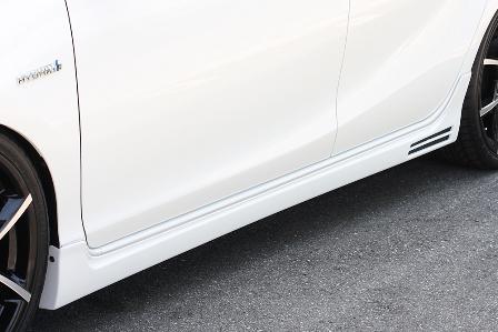 エムズスピード アクア NHP10 前期 サイドステップ 未塗装 1351-2113 グラマラスライン ゼウス