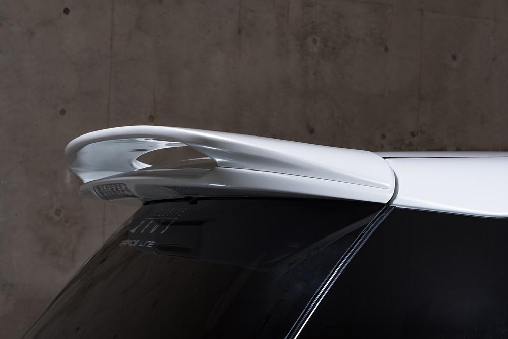 エムズスピード エスティマ エスティマハイブリッド ACR50系 AHR20 最終型 リアウィング 単色塗装済 3062-5111 グレースライン ゼウス