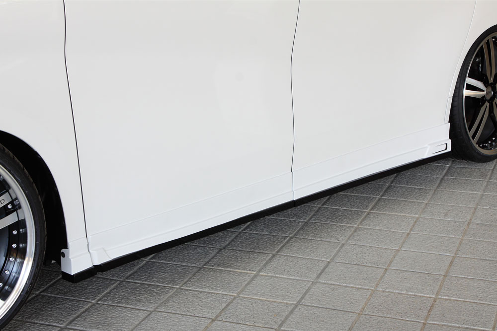 エムズスピード アルファード アルファードハイブリッド 30系 GGH/AGH/AYH 後期 サイドステップ 未塗装 3042-2111 グレースライン ゼウス