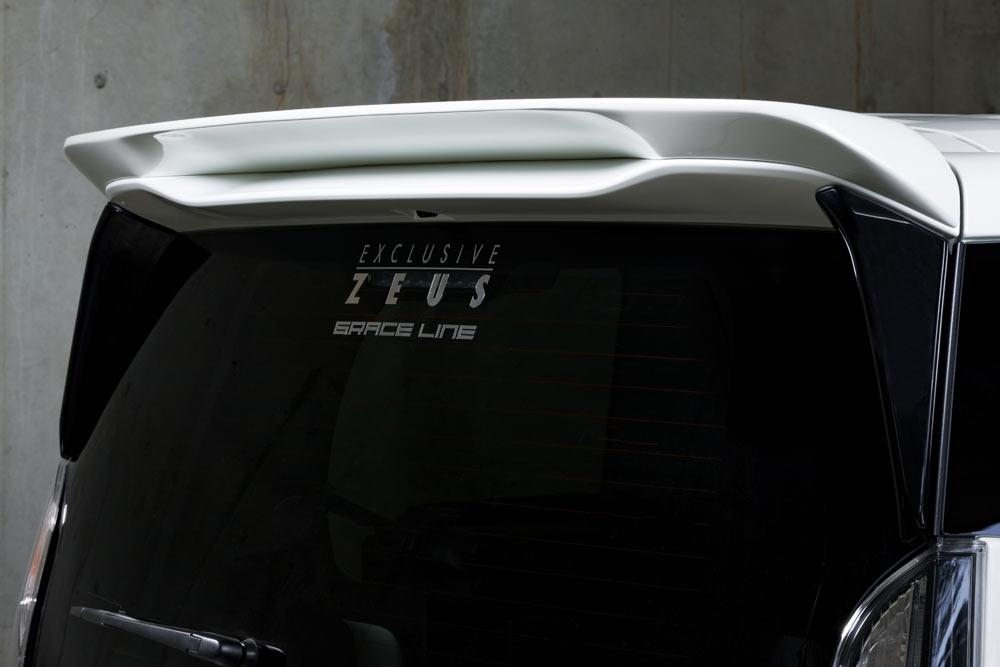 エムズスピード セレナ C27 リアウィング ウイング 未塗装 3153-5111 グレースライン ゼウス