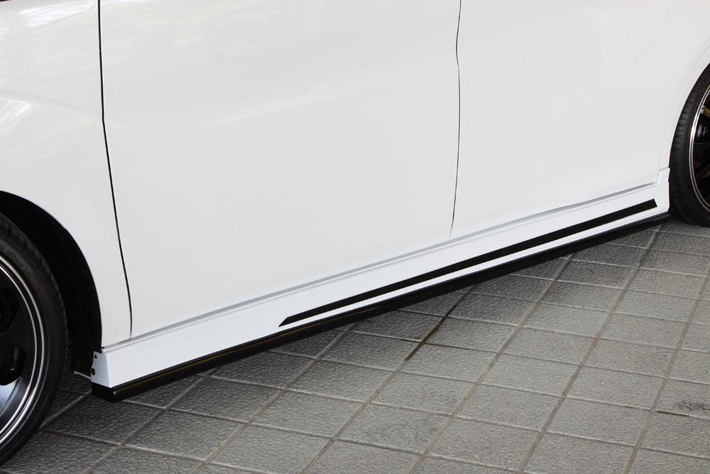 エムズスピード ステップワゴン スパーダ RP3 RP4 前期 サイドステップ 2色塗分け塗装済 3123-2111-222 グレースライン ゼウス