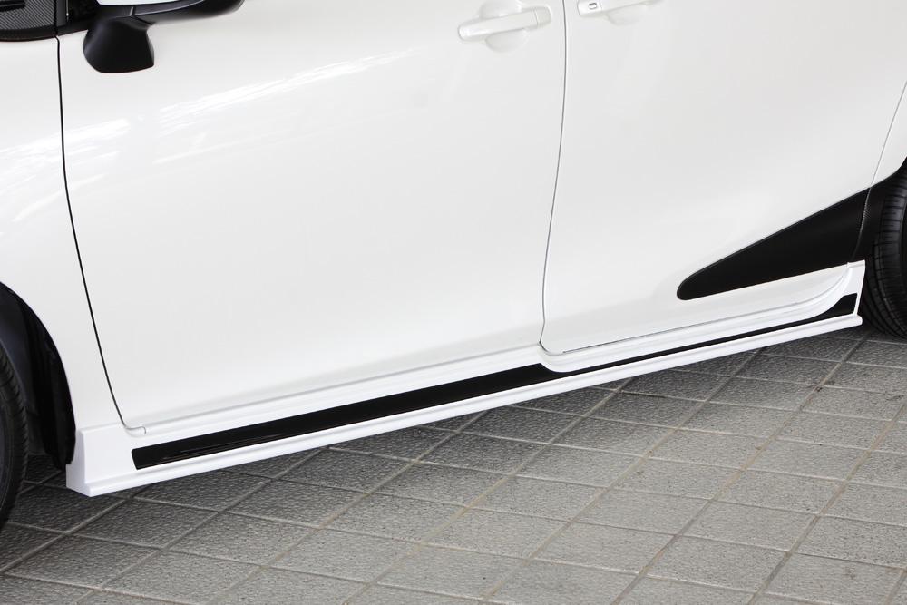 エムズスピード シエンタ NSP170 NCP175 NHP170 サイドステップ 2色塗分け塗装済 3201-2113-222 グレースライン ゼウス