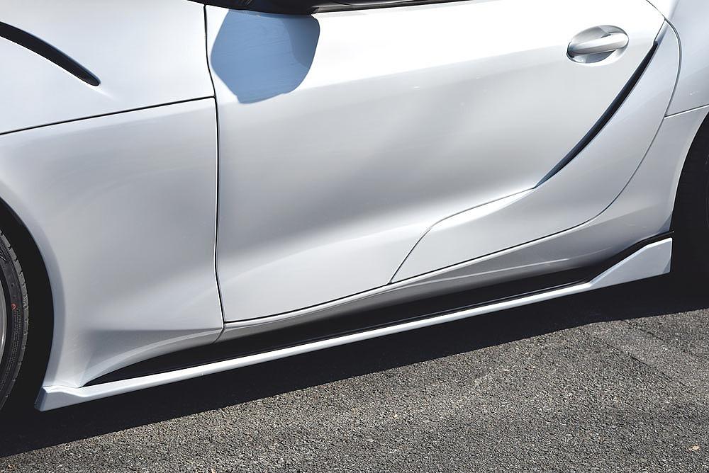 エムズスピード スープラ DB42 DB22 DB82 サイドステップ 未塗装 6731-2110 プルシャンブルー ゼウス