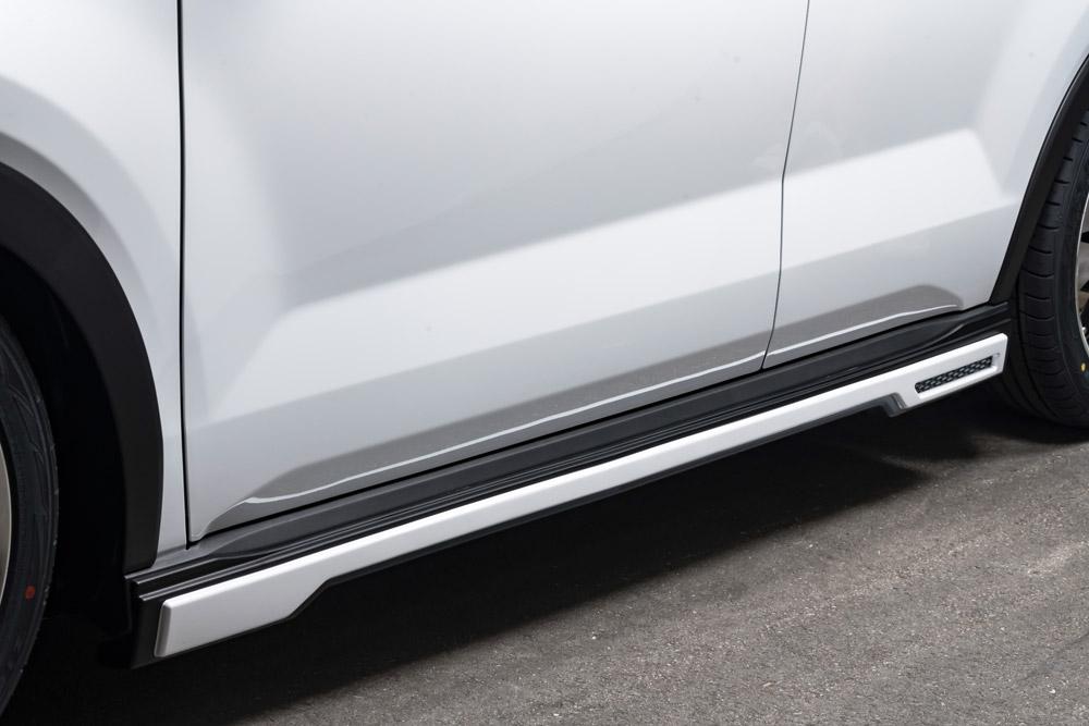エムズスピード ライズ A200A サイドステップ X07塗装済 2421-2110-x07 ラヴライン ゼウス