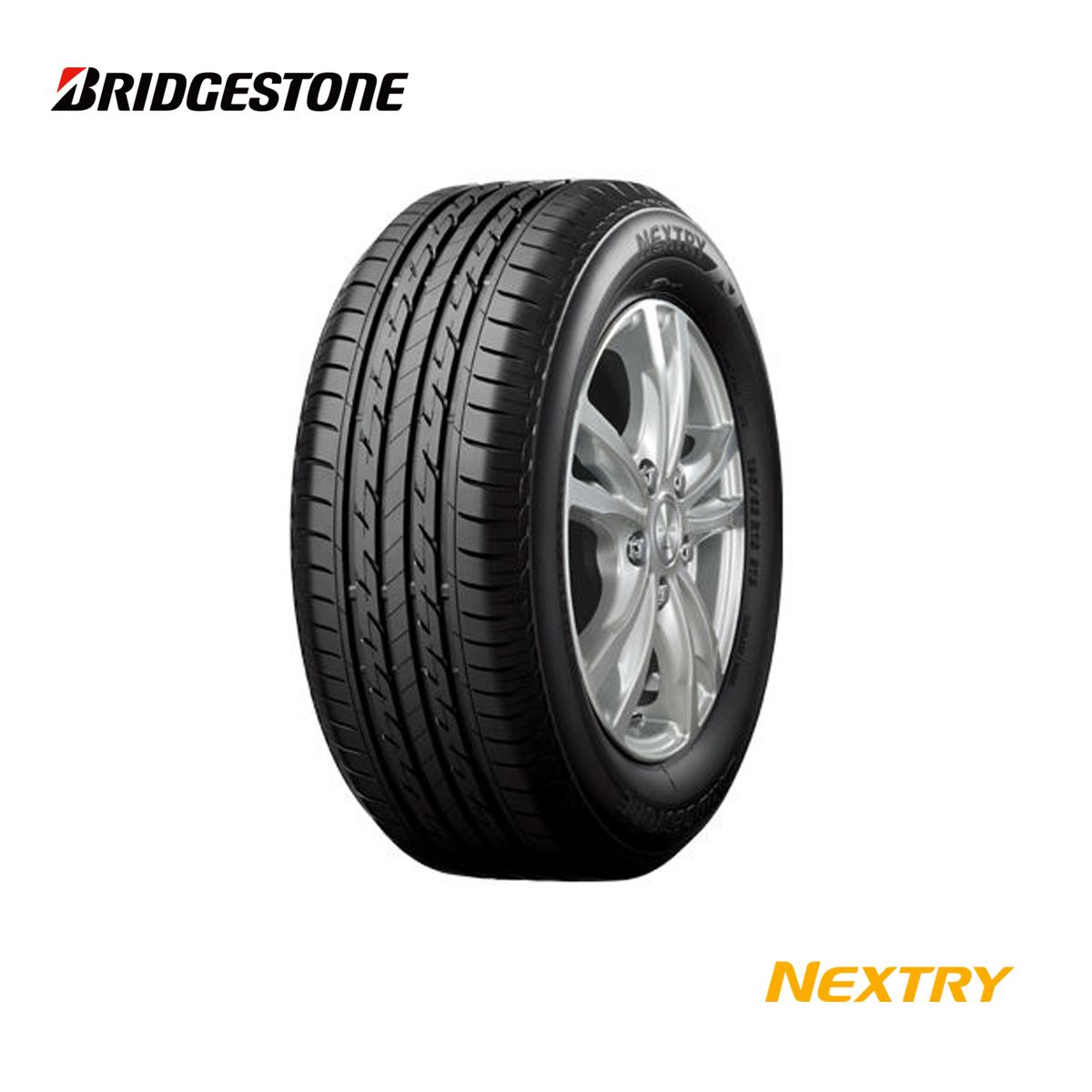 ブリヂストン 15インチ タイヤ 165/55R15 165 55 15 75V ネクストリー サマータイヤ 4本 75V 低燃費 エコ 夏 サマー タイヤ BRIDGESTONE NEXTRY
