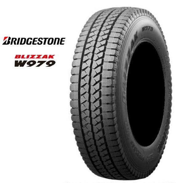 スタッドレスタイヤ BS ブリヂストン 15インチ 4本 205/80R15 109/107L ブリザック W979 205/80R15 205 80 15 スタットレス LYR07052 BRIDGESTONE BLIZZAK W979