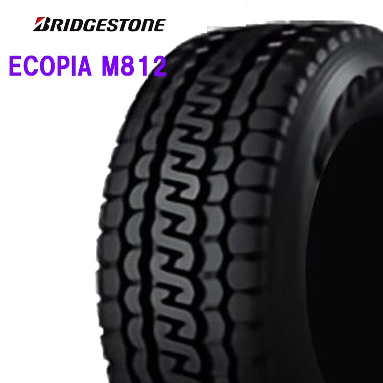 16インチ 195/85R16 114/112N 1本 夏 サマー 低燃費タイヤ BS ブリヂストン エコピア M812 BRIDGESTONE ECOPIA M812