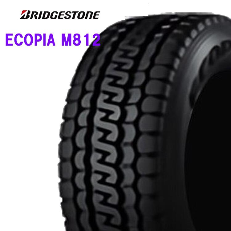 16インチ 205/85R16 117/115N 1本 夏 サマー 低燃費タイヤ BS ブリヂストン エコピア M812 BRIDGESTONE ECOPIA M812