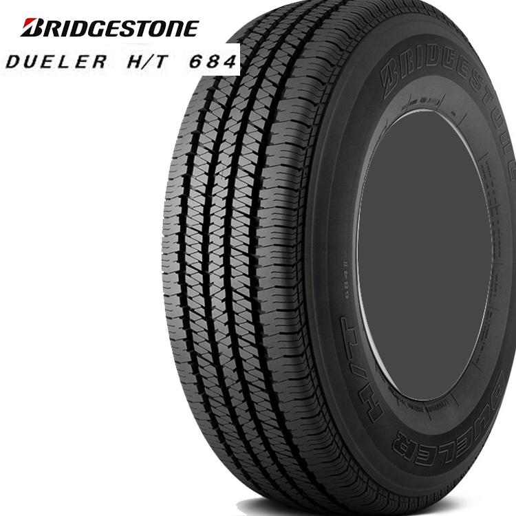 17インチ 215/60R17 96H 1本 夏 サマータイヤ BS ブリヂストン デューラー H/T684 チューブレスタイプ BRIDGESTONE DUELER H/T684