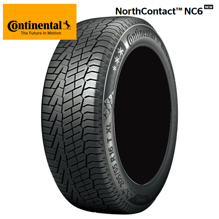 19インチ 255/45R19 100T 2本 冬 スタッドレスタイヤ コンチネンタル ノースコンタクトNC6 スタットレス Continental NorthContact NC6