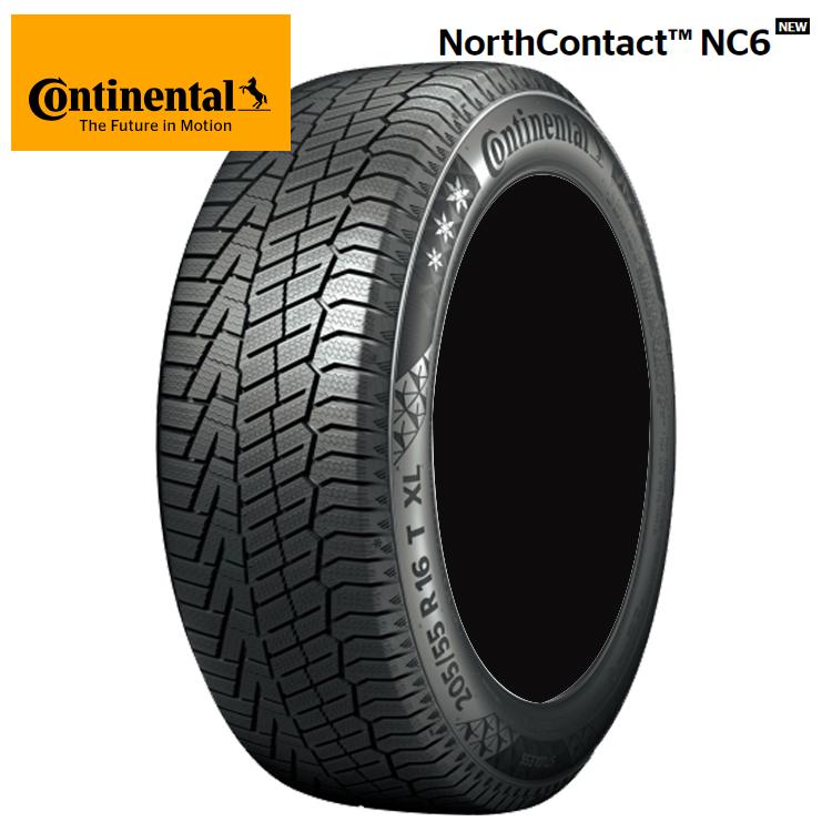 18インチ 225/55R18 98T 2本 冬 スタッドレスタイヤ コンチネンタル ノースコンタクトNC6 スタットレス Continental NorthContact NC6