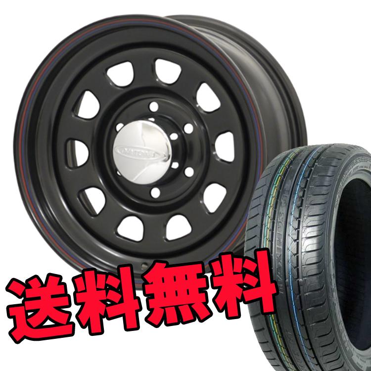 ジムニー用 16インチ 特選輸入タイヤ 4本 175/80R16 175 80 16 タイヤ ホイール セット DAYTONA'S BLACK 5H139.7 5.5J+20 MORITA