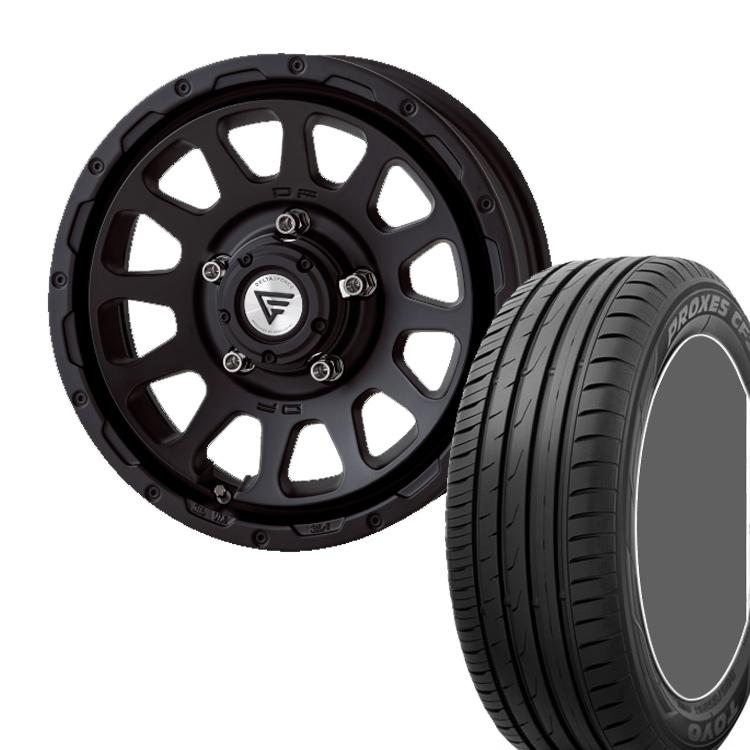 ジムニーシエラ用 16インチ TOYO プロクサス CF2S 4本 215/70R16 100H/ 215 70 16 100H タイヤ ホイール セット OVAL 5H139.7 6.0J 6J+5 DELTA FORCE