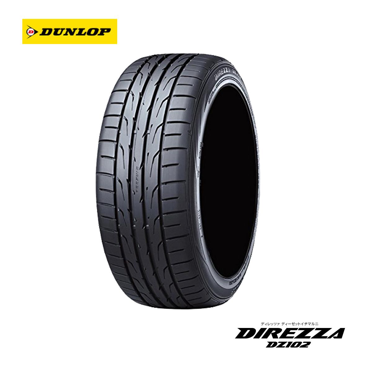 DUNLOP ダンロップ スポーツ サマータイヤ 4本 セット 17インチ 205/45R17 DIREZZA DZ102 ディレッツァ