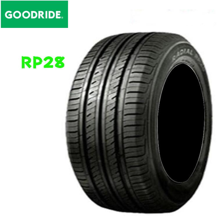 16インチ 4本 205/60R16 92H 輸入 低燃費 ベーシック 夏 サマータイヤ グッドライド RP28 GOODRIDE RP28 要納期確認