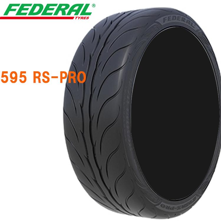 18インチ 2本 265 40R18 40 18 人気ブランド 101Y XL 595 気質アップ 要在庫確認 RS-PRO 40ZR18 FEDERAL フェデラル スポーツタイヤ 輸入