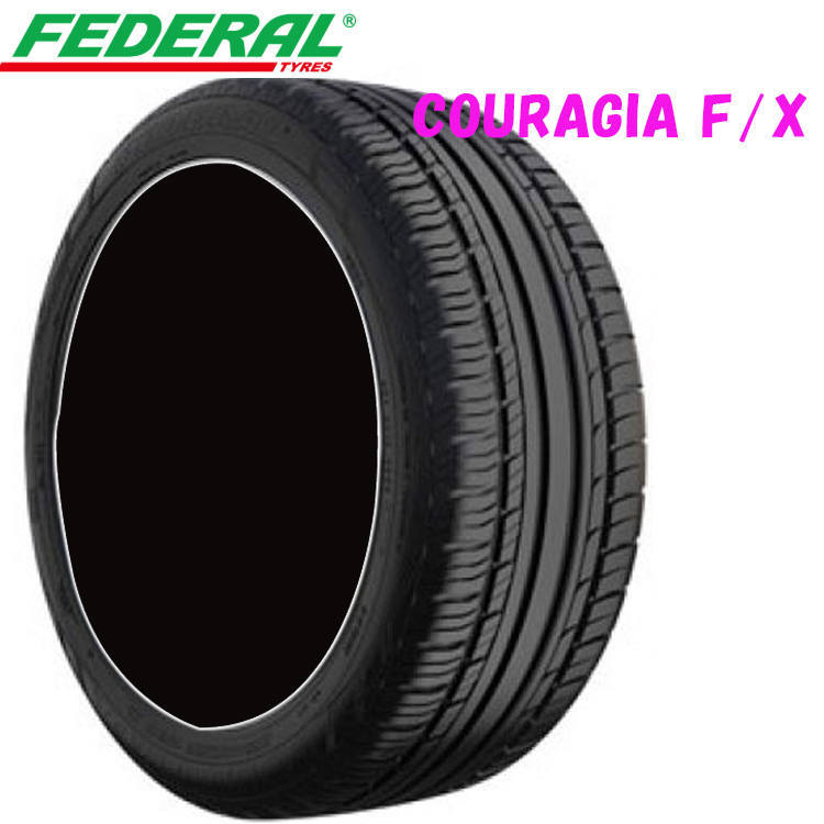 255/55ZR18 109Y XL 18インチ 4本 夏 SUV/4WDタイヤ フェデラル クーラジアF/X FEDERAL COURAGIA F/X