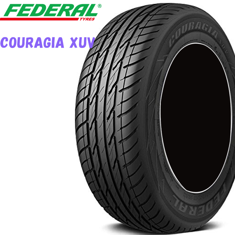 P265/65R17 112H 17インチ 4本 夏 SUV/4WDタイヤ フェデラル クーラジアXUV FEDERAL COURAGIA XUV 欠品中 納期未定