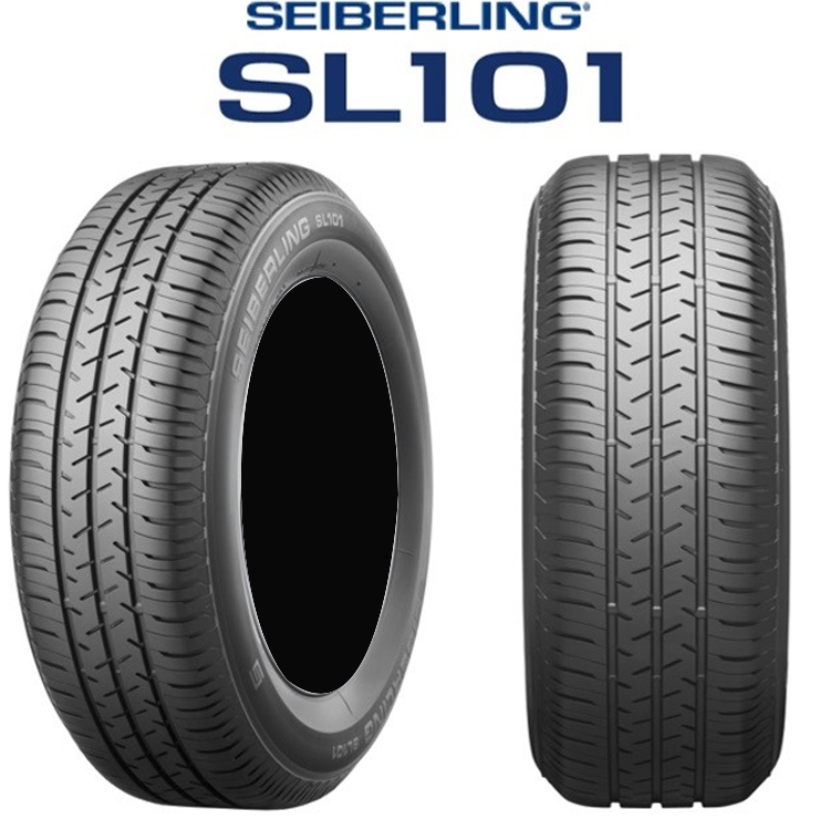13インチ 145/80R13 75S 4本 1台分セット セイバーリング 夏 サマータイヤ ブリヂストン工場製 SEIBERLING SL101