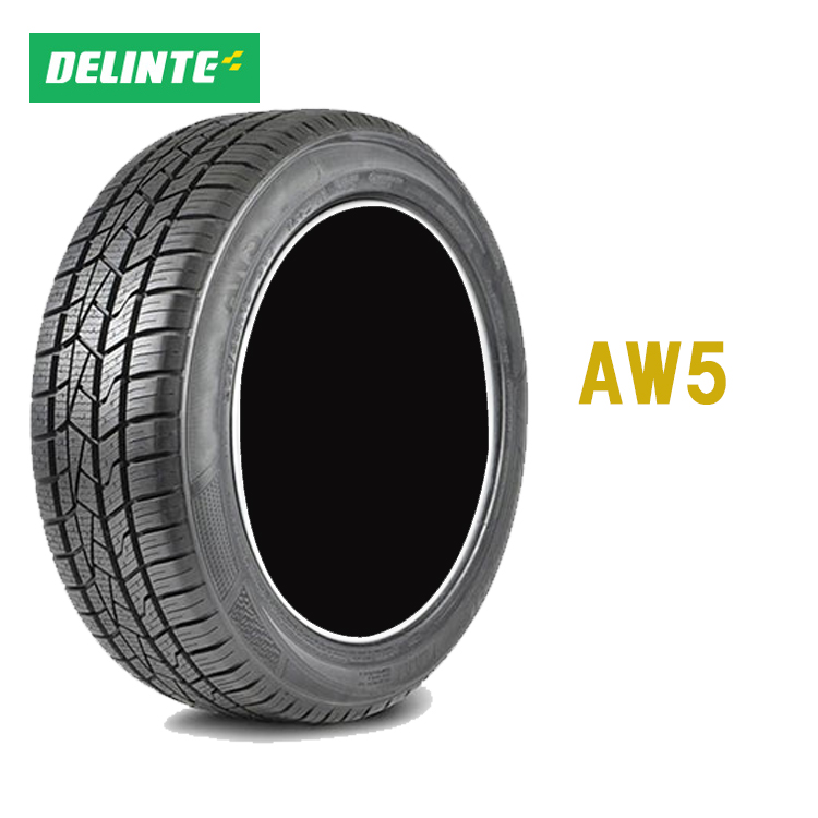 215/55R17 98W XL 4本 オールシーズンタイヤ デリンテ 17インチ aw5 DELINTE AW5