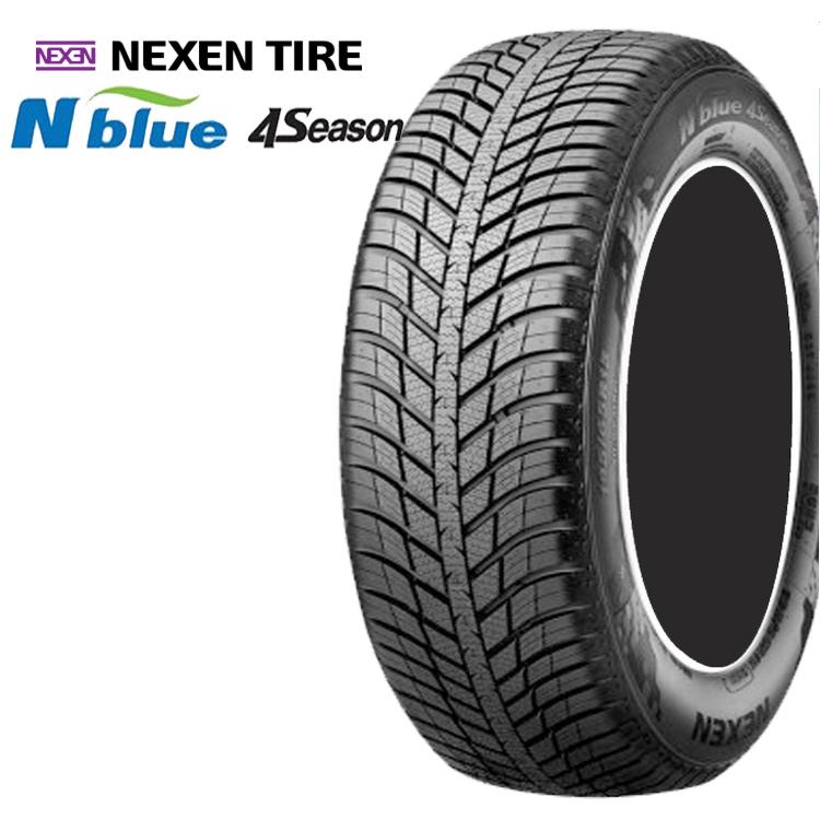 16インチ N-blue 1台分セット TIRE 4SEASON 4本 ネクセンタイヤ NEXEN オールシーズンタイヤ 205/55R16 Nブルー4シーズン