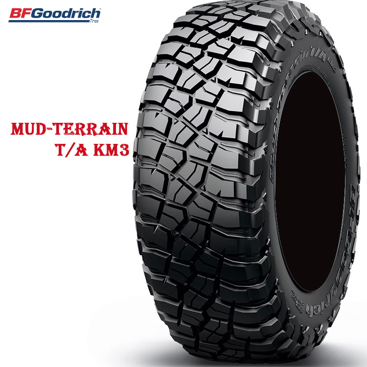 サマータイヤ BFグッドリッチ 18LTインチ 1本 33X12.50R18LT 118Q LRE マッドテレーン TA KM3 ブラックレター 713230 BFGoodrich Mud-Terrain T/A KM3