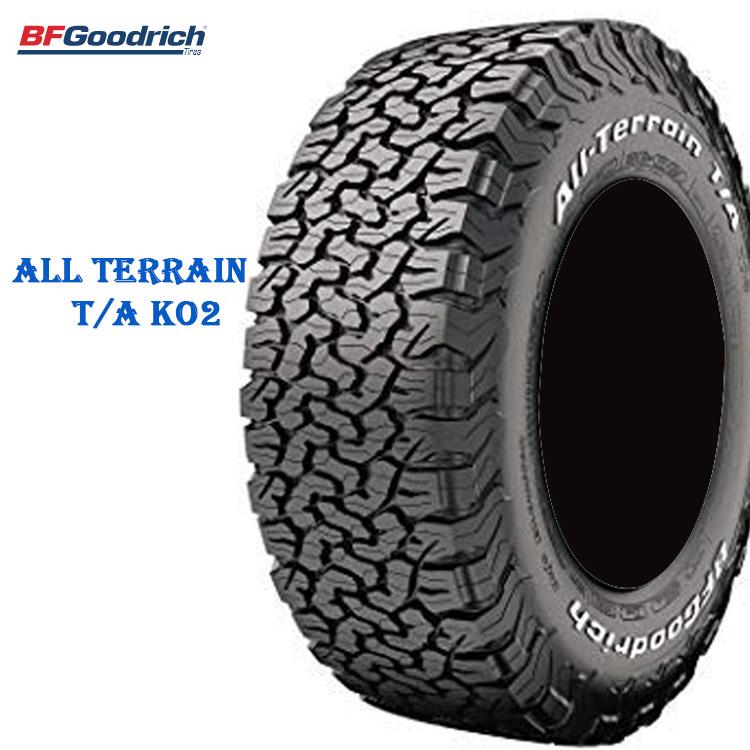サマータイヤ BFグッドリッチ 18インチ 2本 LT265/65R18 122/119R LRE オールテレーン TA KO2 ホワイトレター 700140 BFGoodrich All-Terrain T/A KO2