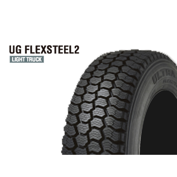 スタッドレス タイヤ グッドイヤー 16インチ 2本 225/70R16 117/115L 225 70 16 117/115L UG フレックス スチール2 冬 スタットレス GOOD YEAR UG FLEX STEEL2