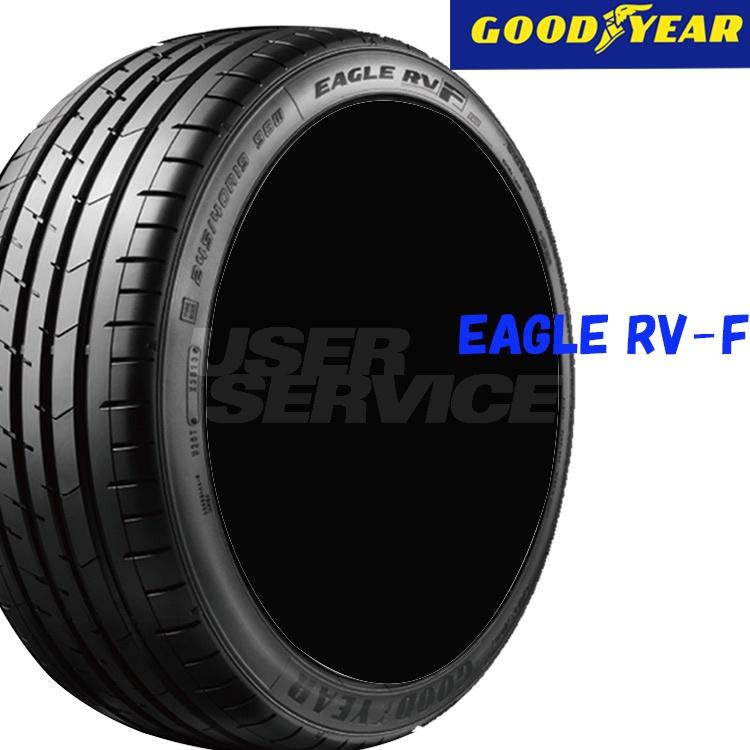 夏 サマー 低燃費タイヤ グッドイヤー 18インチ 4本 225/40R18 92W XL イーグル RV-F 05605058 GOODYEAR EAGLE RV-F